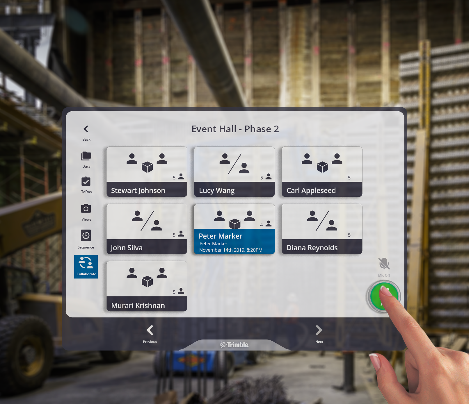 Collaborate with multiple people in your model with Connect for HoloLens
