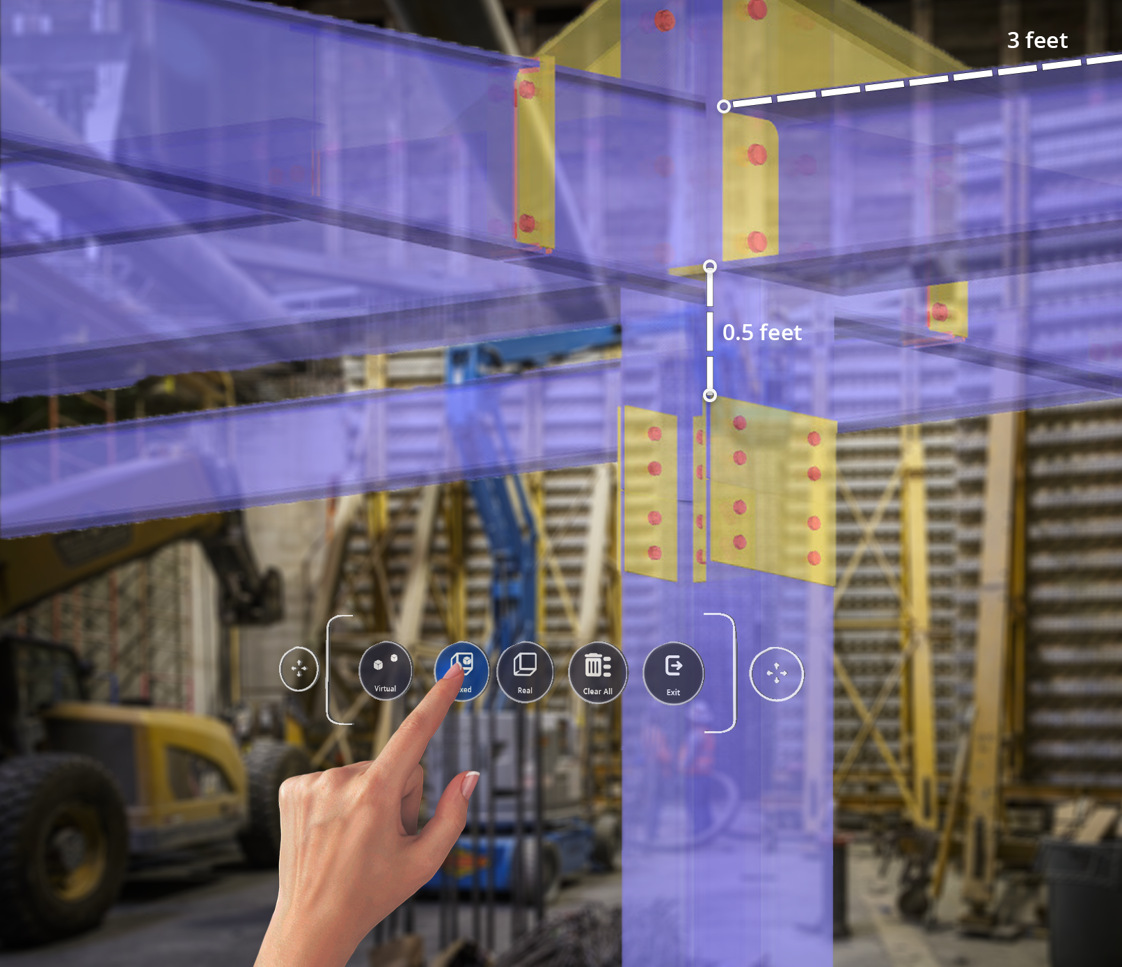 Measure your models in the real world with Connect for HoloLens